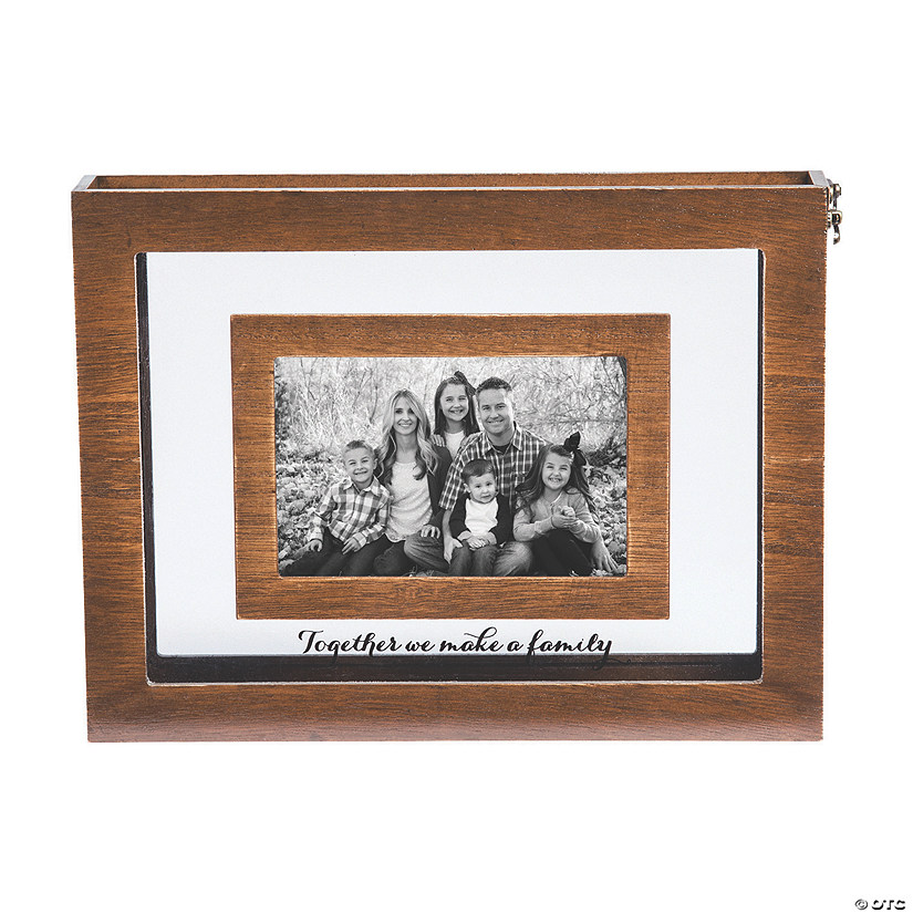 Blended Family Sand Ceremony Photo Frame