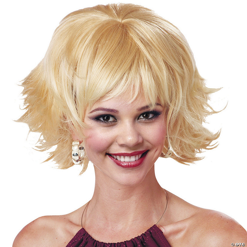 Blonde Trippy Shag Wig