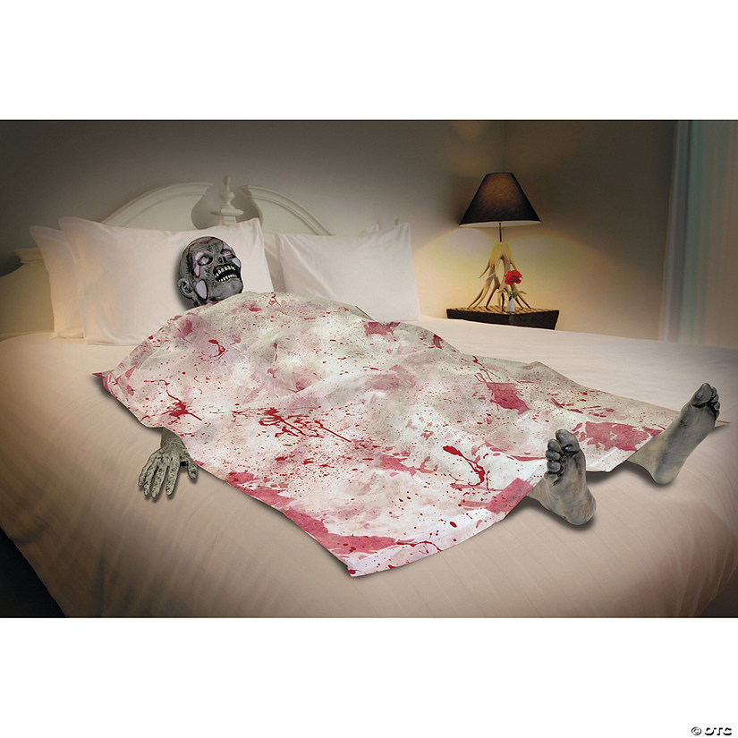 Bloody Death Bed Zombie Halloween Décor