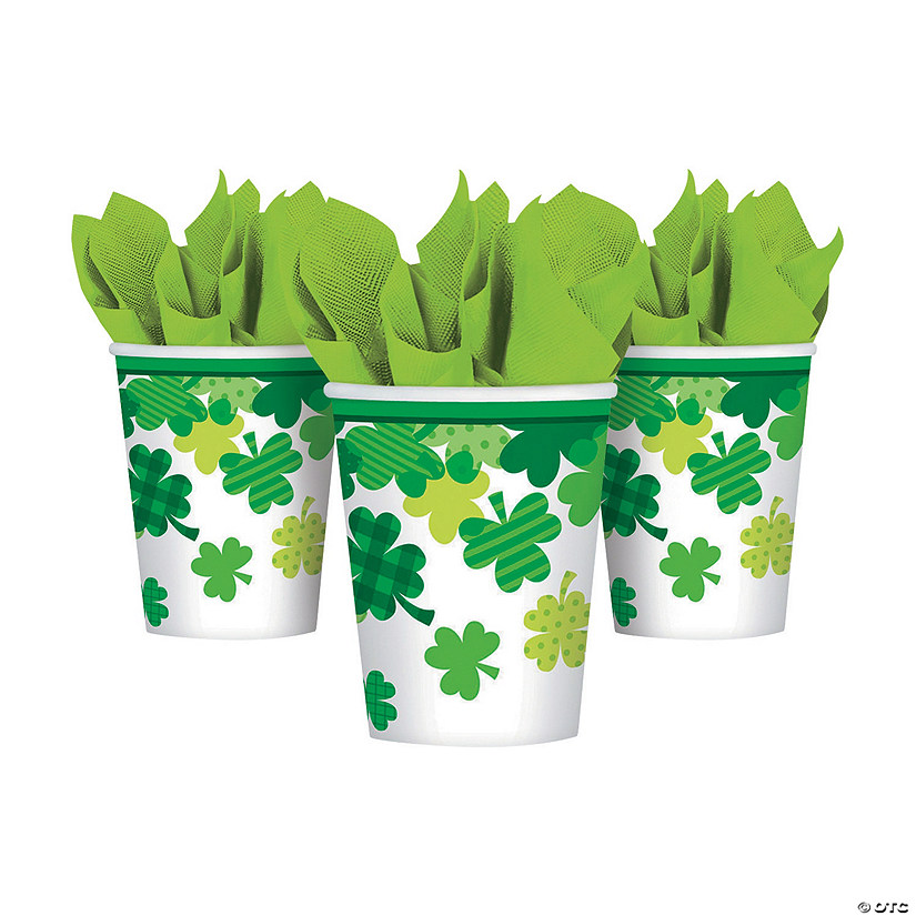 Blooming Shamrocks Cups