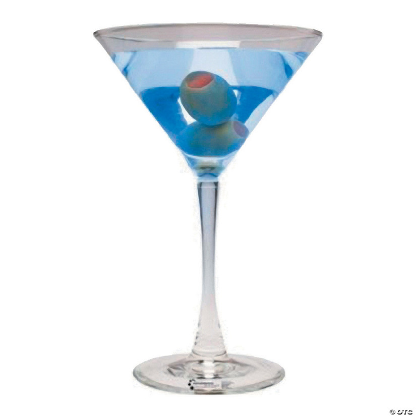 Blue Martini Cardboard Stand-Up