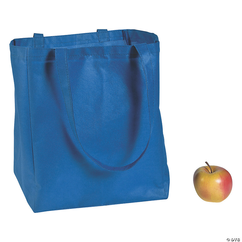 Blue Shopper Tote Bags