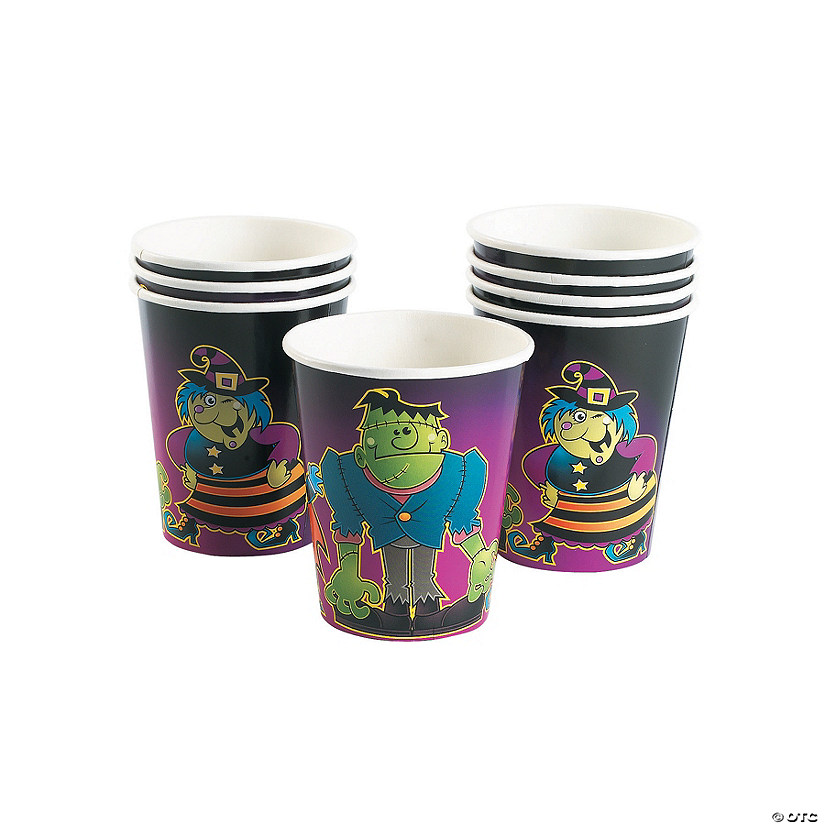 """Boo Bunch"" Halloween Paper Cups"