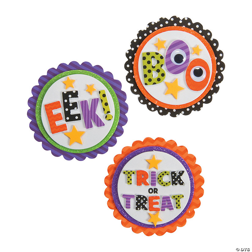 Boo Eek Trick-or-Treat Magnet Craft Kit