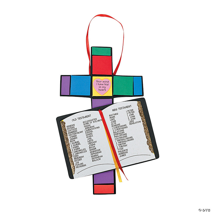 Books of the Bible Craft Kit