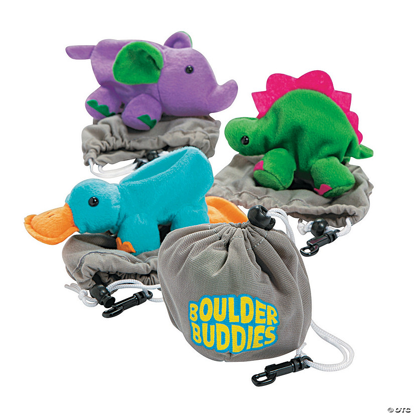 Boulder Buddies Reversible Plush