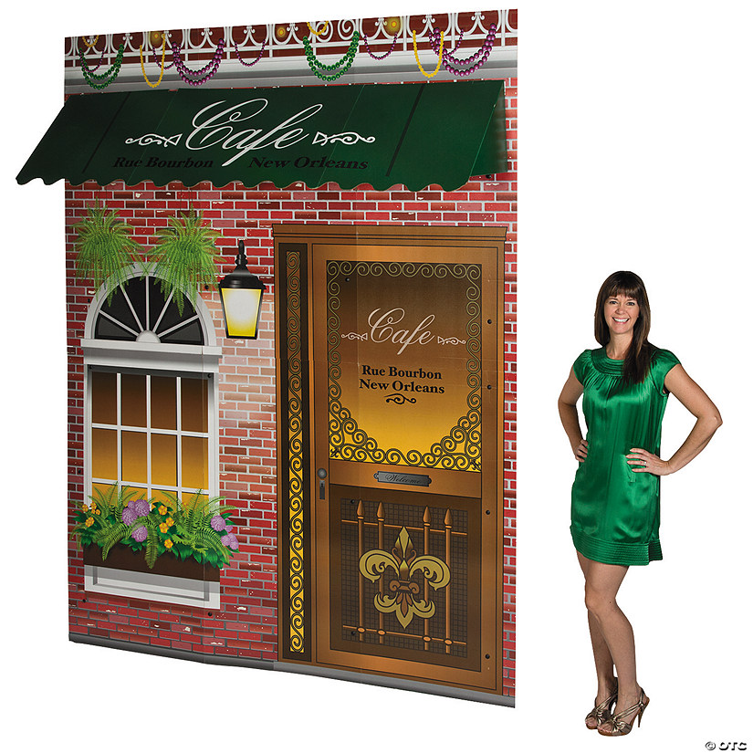 Bourbon Street Storefront Cardboard Stand-Up