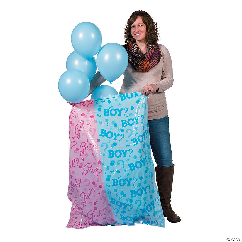 Boy Reveal Balloon Sack