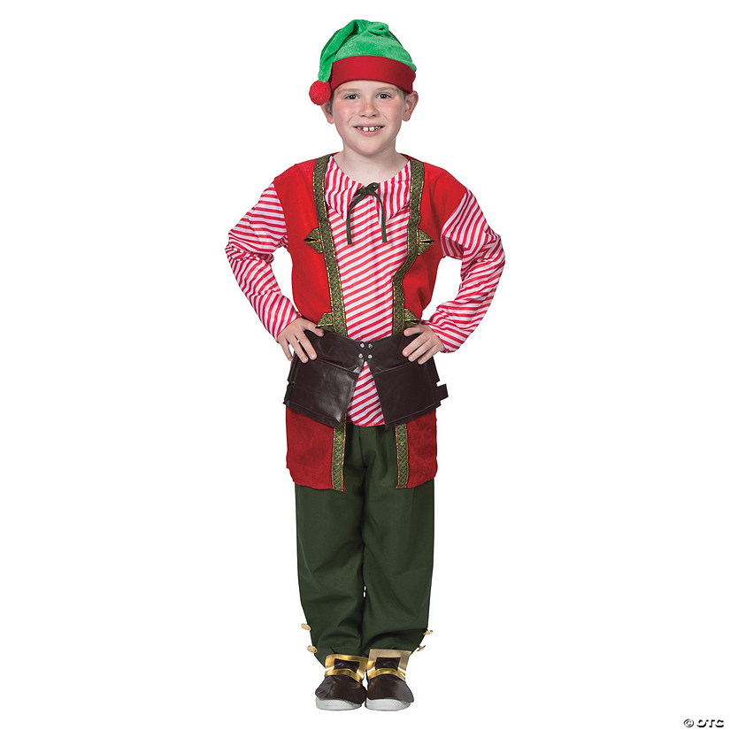 Boy's Toy Maker Elf Costume