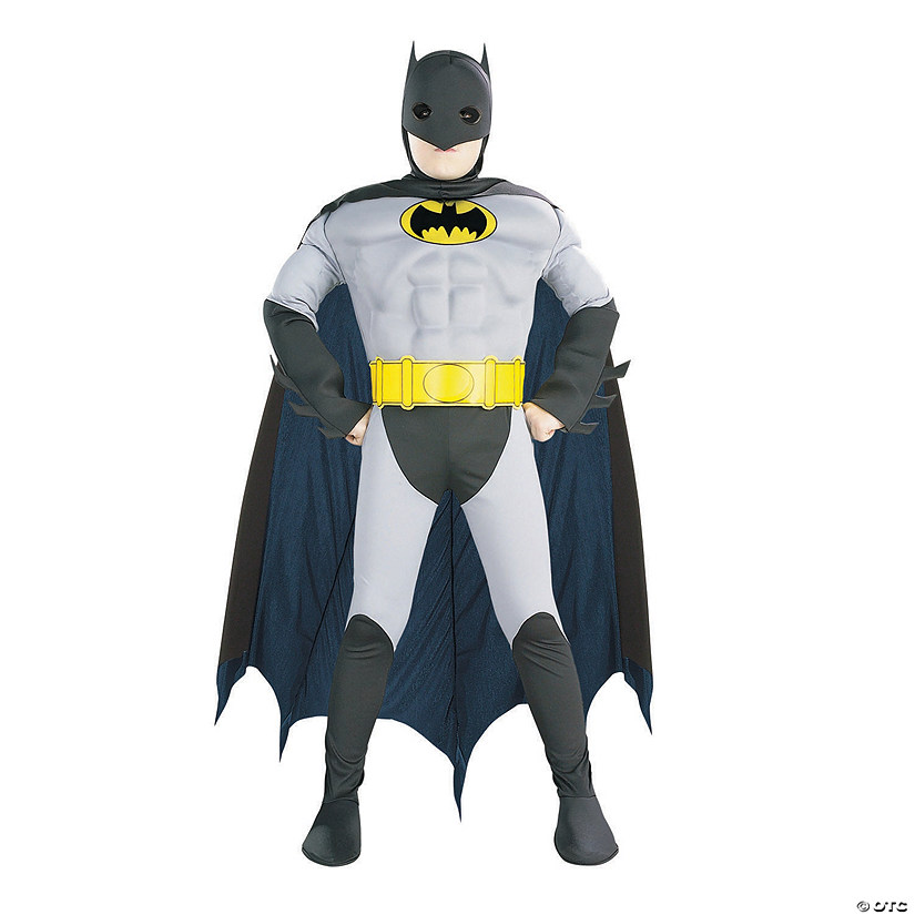 Boy's Batman with Muscle Chest Costume