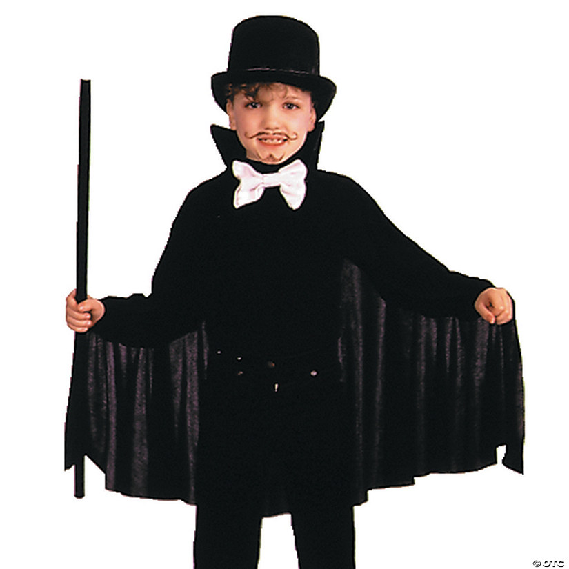 Boy's Black Cape Costume