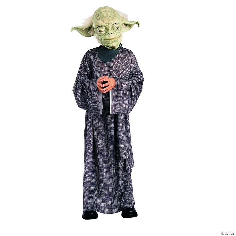 Boy's Black Robe Star Wars™ Yoda Costume