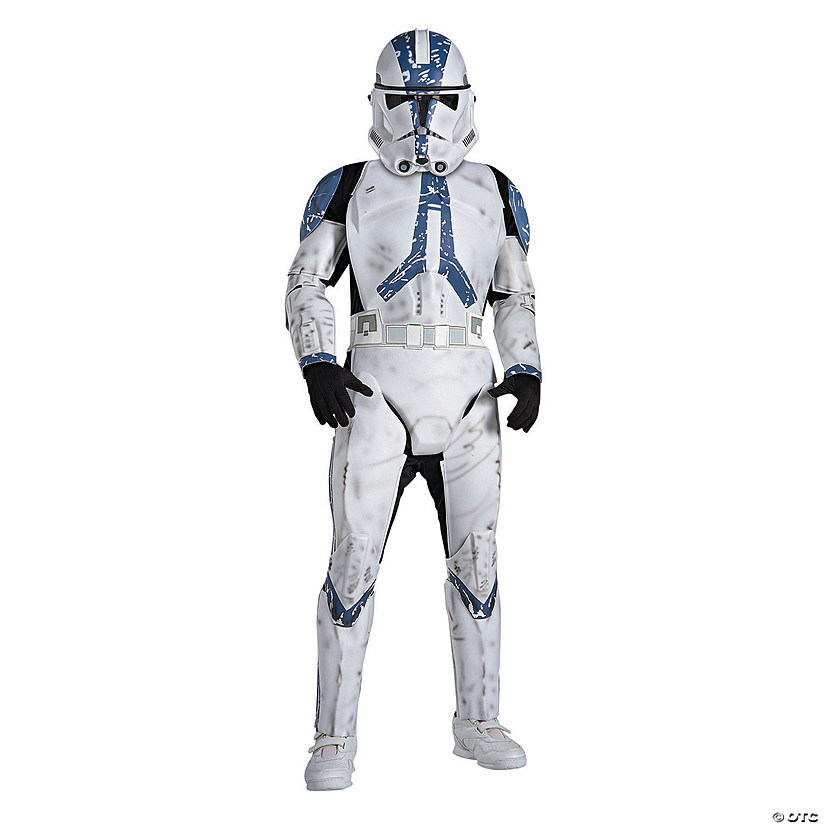 Boy's Classic Deluxe Clone Trooper Costume
