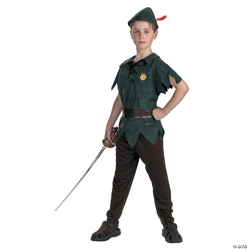 Boy's Classic Peter Pan Costume - Small