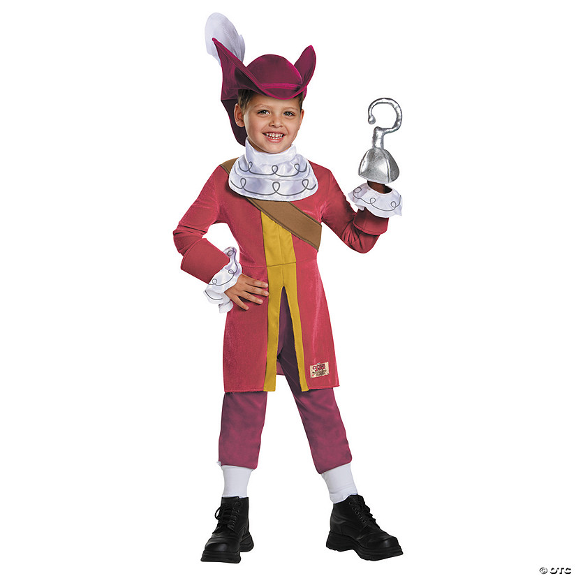 Boy's Deluxe Captain Hook Costume - Small