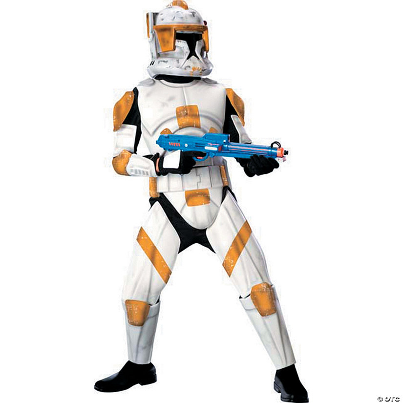 Boy's Deluxe Clone Trooper Cody Costume