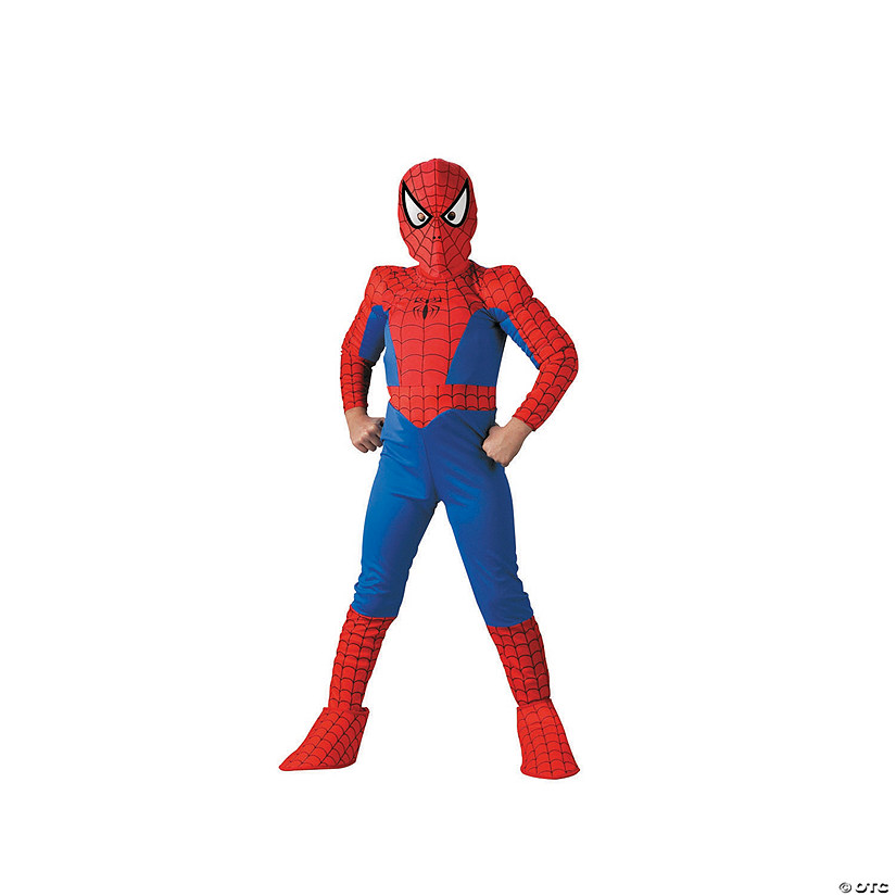 Boy's Deluxe Comic Spider-Man™ Costume