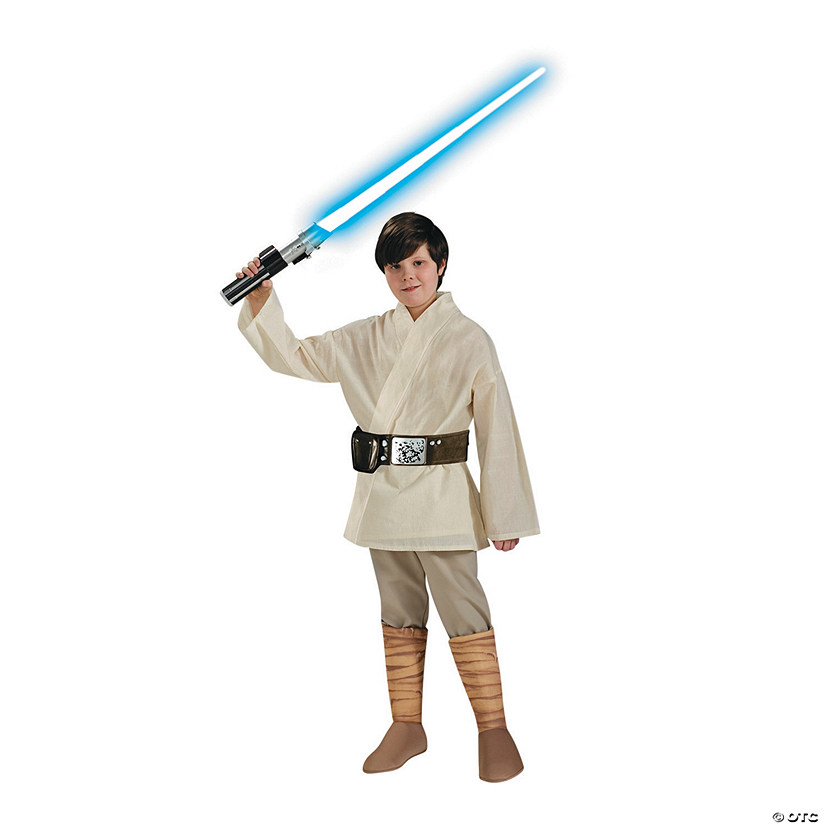 Boy's Deluxe Luke Skywalker Costume