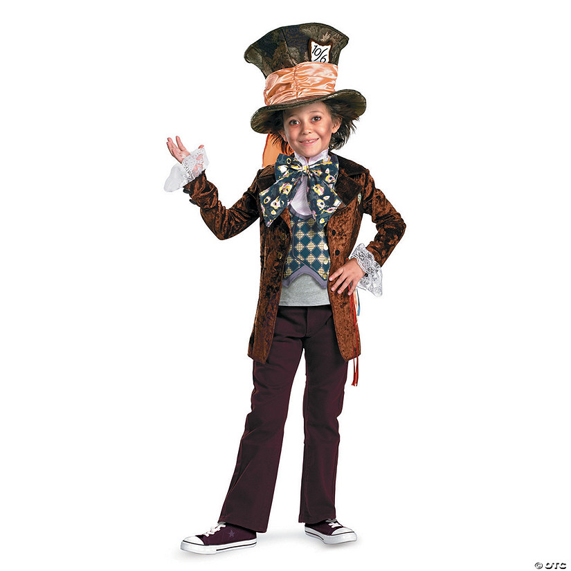 Boy's Deluxe Mad Hatter Costume