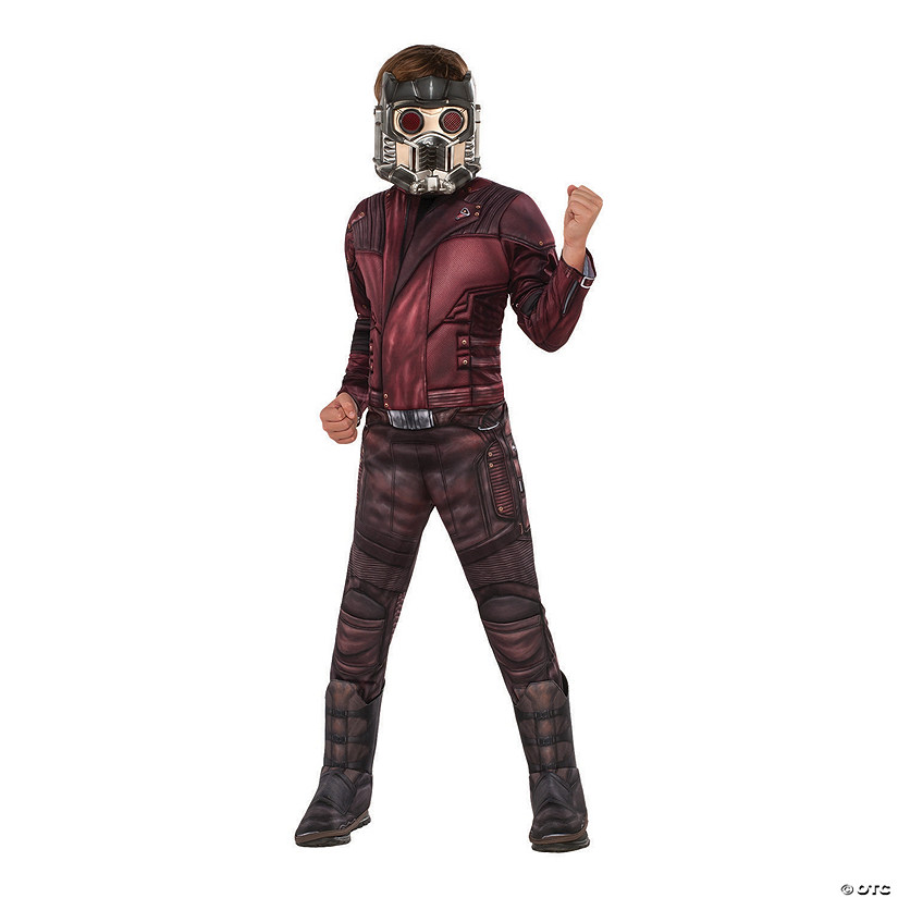 Boy's Deluxe Muscle Chest Starlord Costume