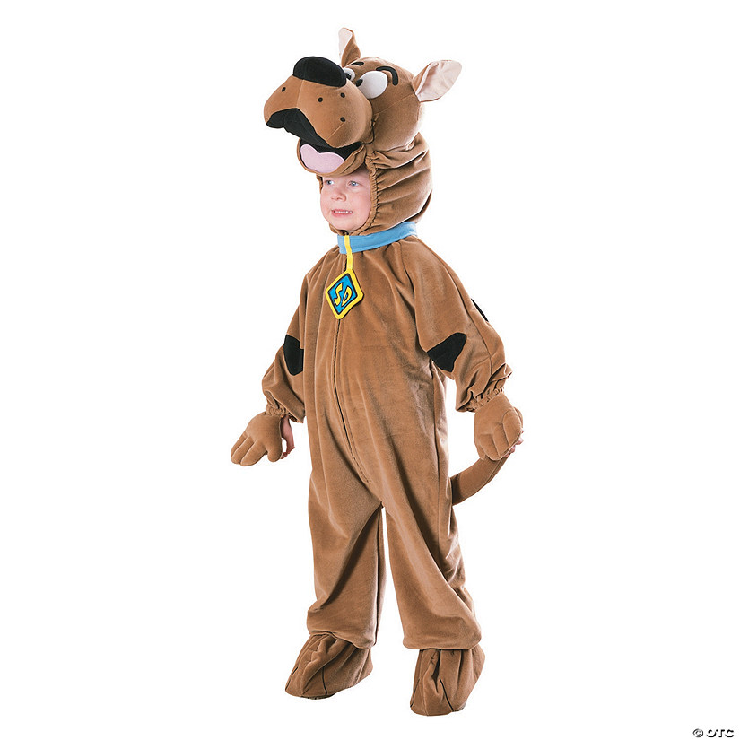Boy's Deluxe Scooby Doo Costume - Small