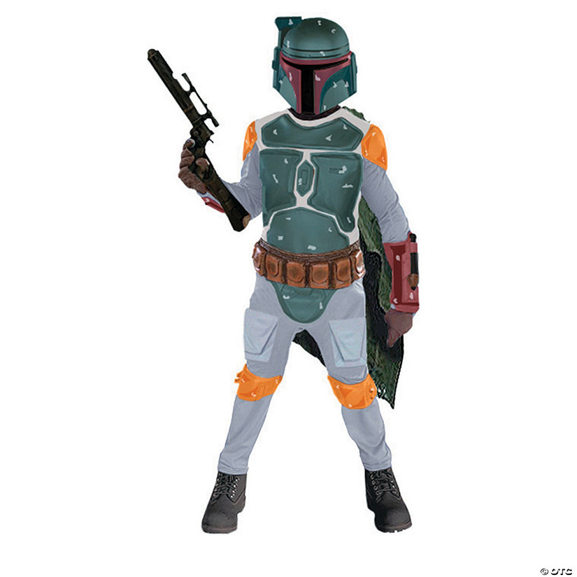 Boy's Deluxe Star Wars™ Boba Fett Costume