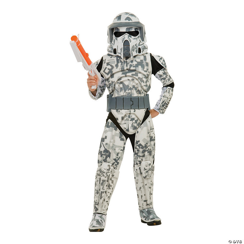 Boy's Deluxe Star Wars Clone Wars ARF Trooper Costume