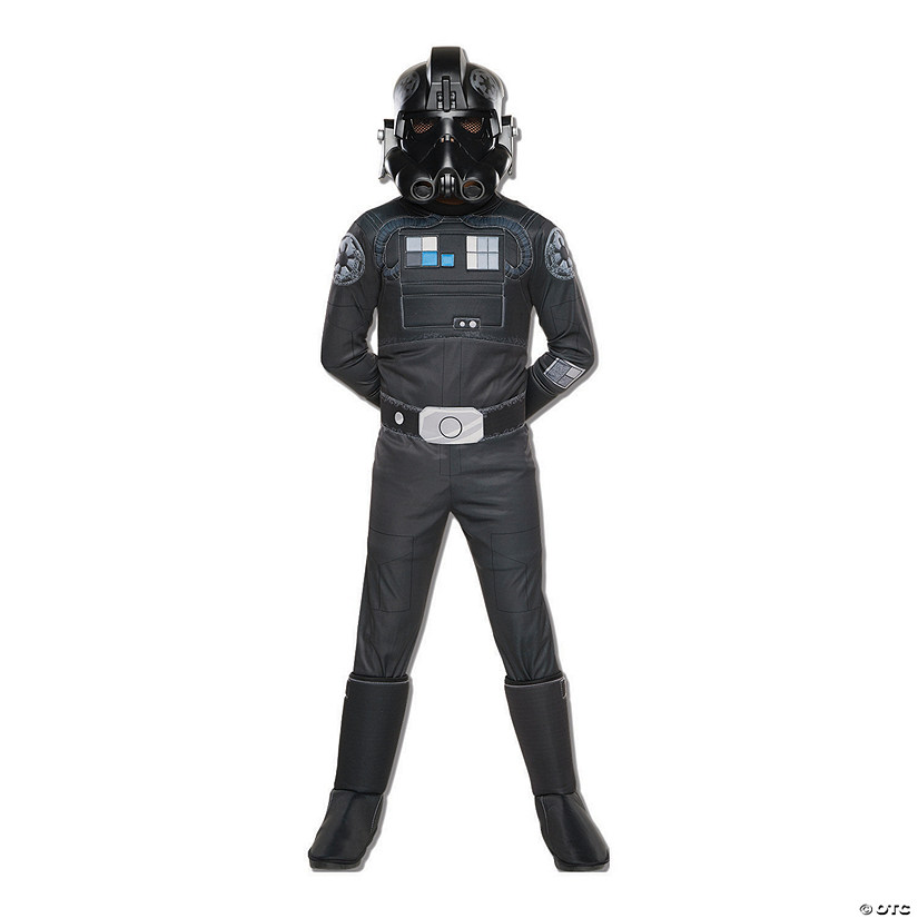 Boy's Deluxe Star Wars TIE Fighter Pilot Costume