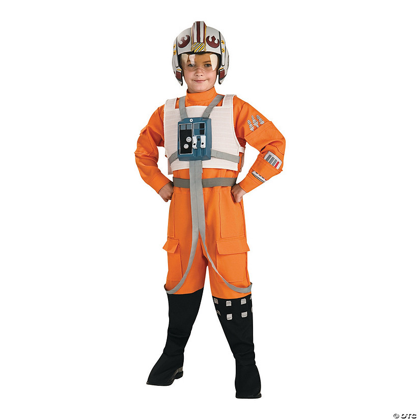 Boy's Deluxe X-Wing Fighter Costumes