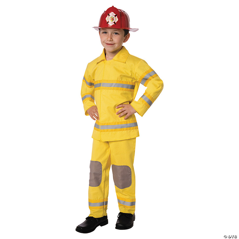 Boy's Firefighter Costume - Small