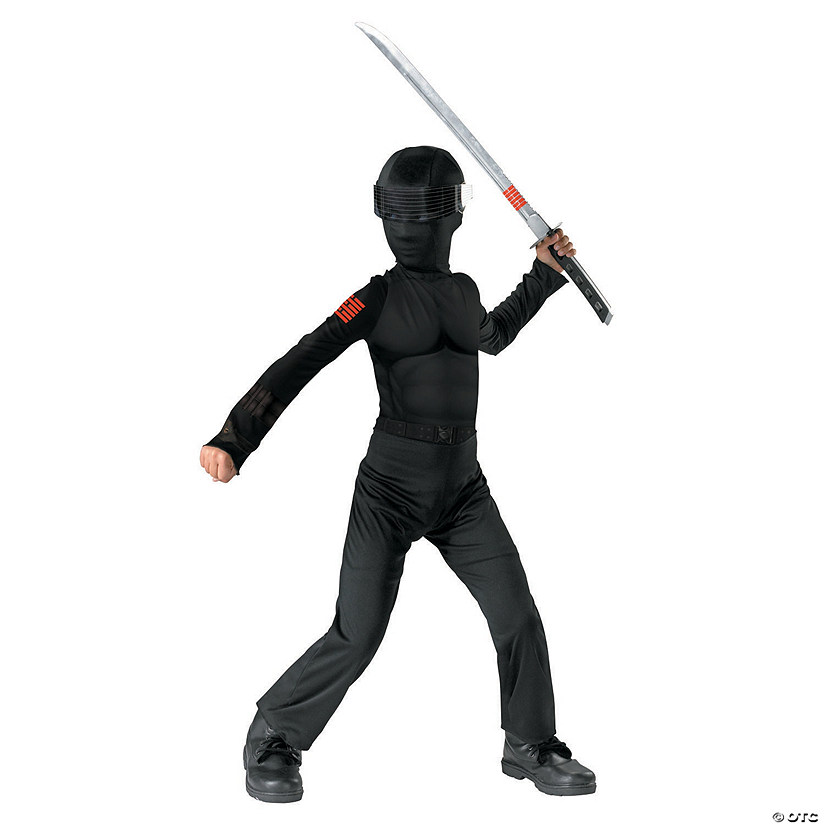 Boy's G.I. Joe Snake Eyes Costume
