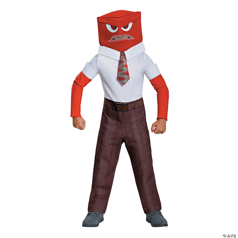 Boy's Inside Out Anger Costume