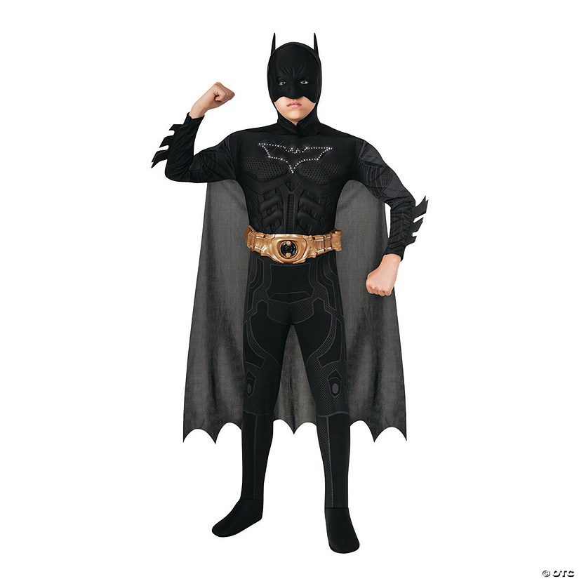 Boy's Light-Up Deluxe Muscle Chest Batman™ Costume