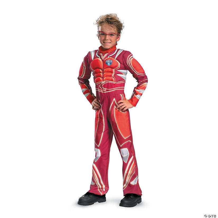 Boy's Muscle Hot Wheels Vert Wheeler Costume