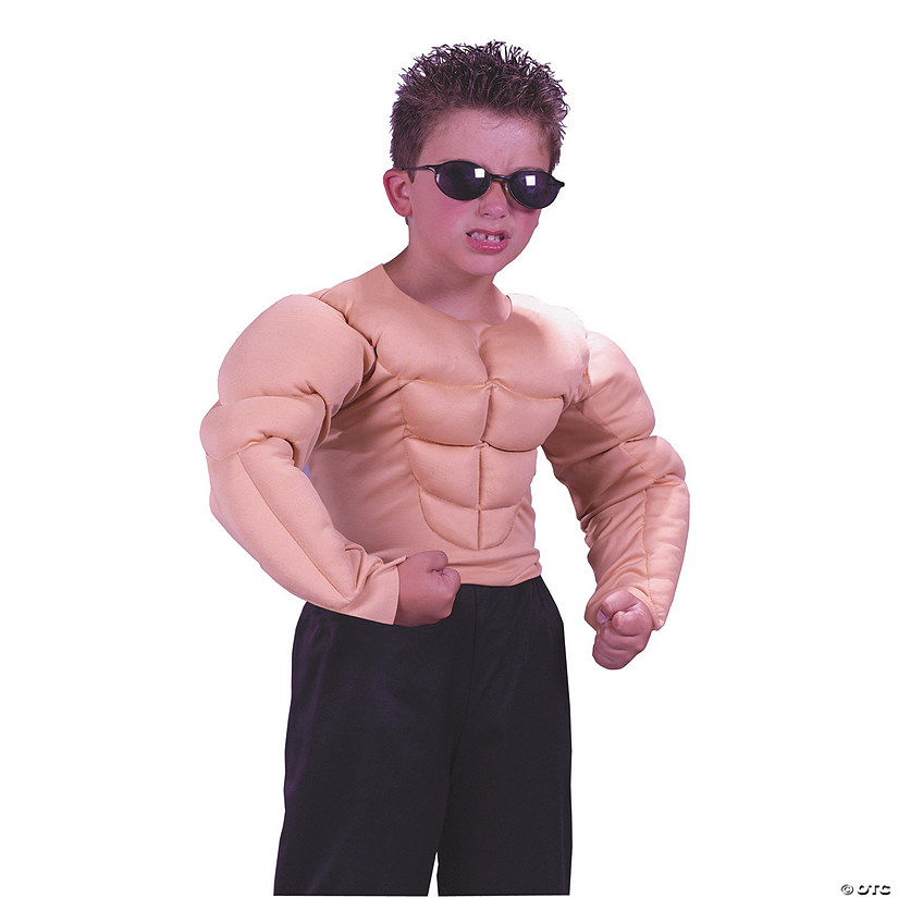 Boy's Muscle Shirt Costume