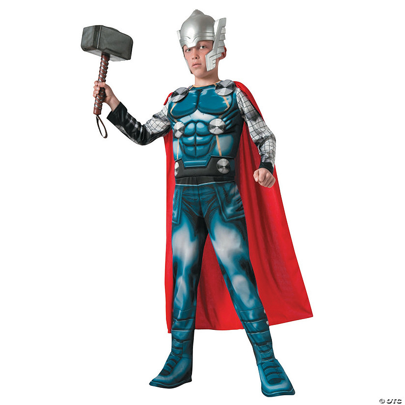 Boy's Muscle Thor Costume