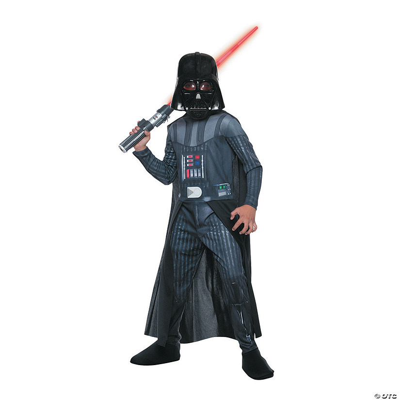Boy's Photo Real Darth Vader Costume