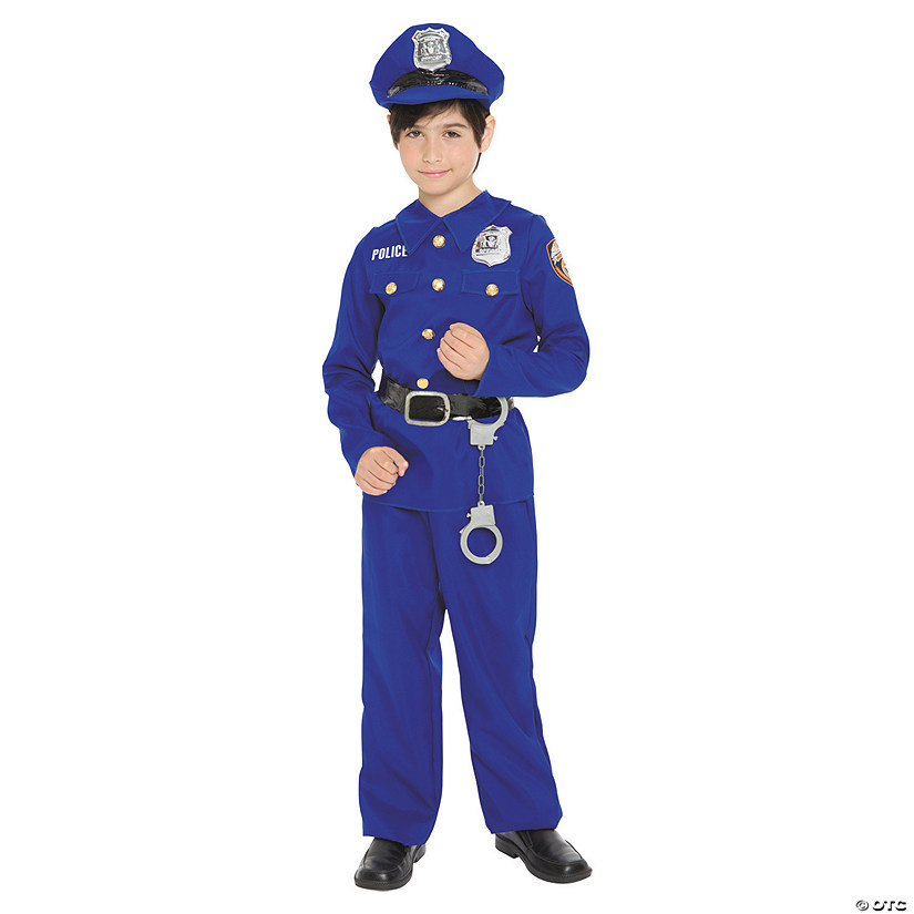 Boy's Police Officer Costume - Extra Small