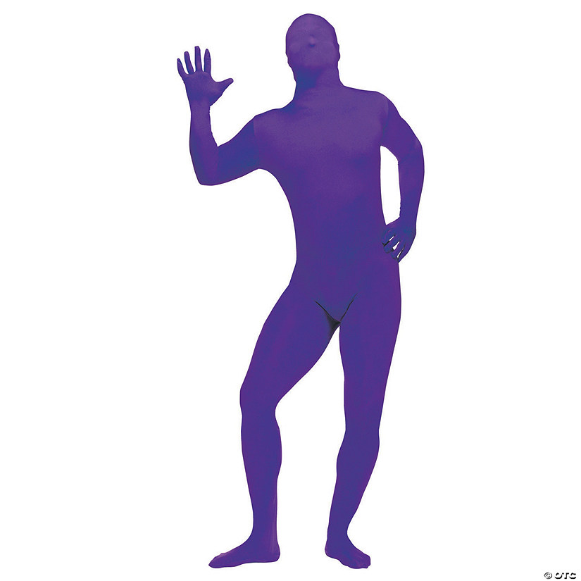 Boy's Purple Skin Suit Costume - Extra Large