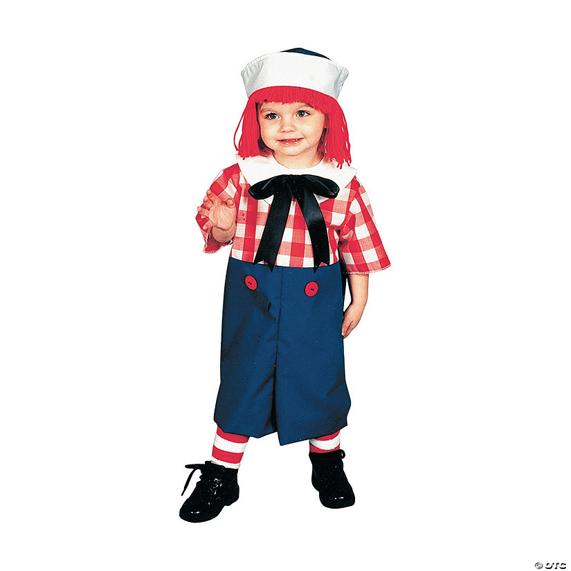 Boy's Raggedy Andy Costume - Small