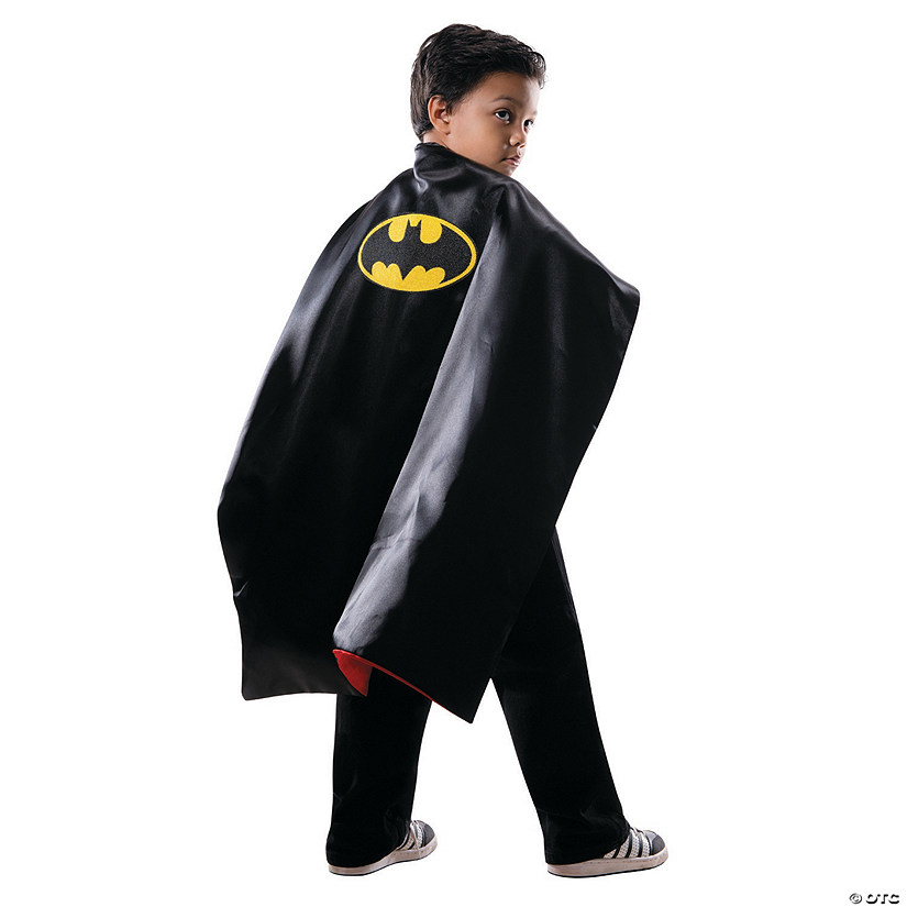 Boy's Reversible Batman to Superman Cape Costume