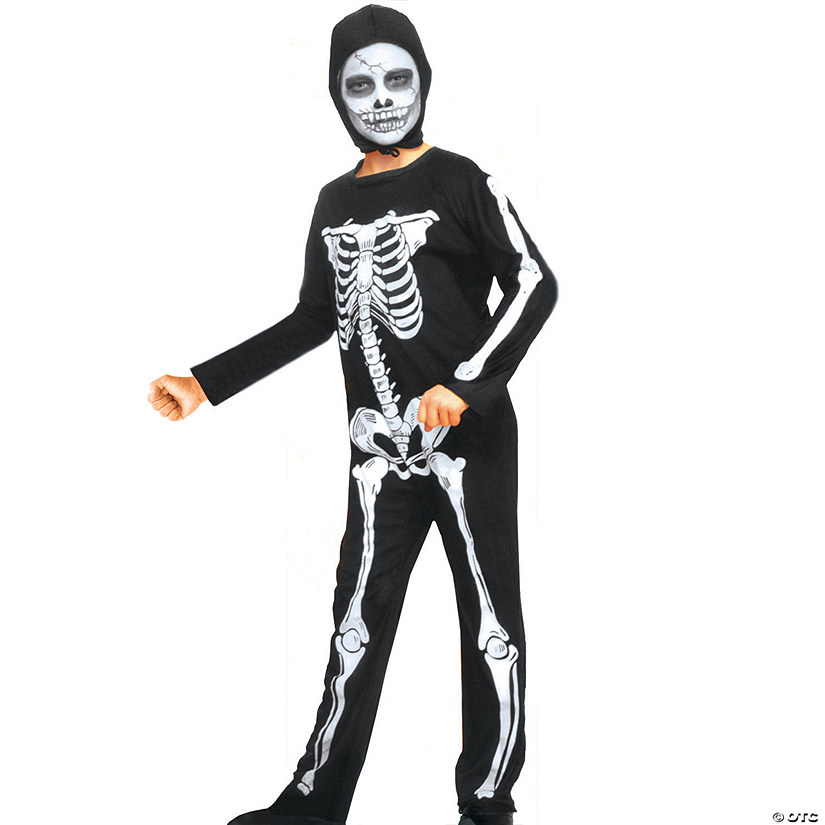 Boy's Skeleton Halloween Costume