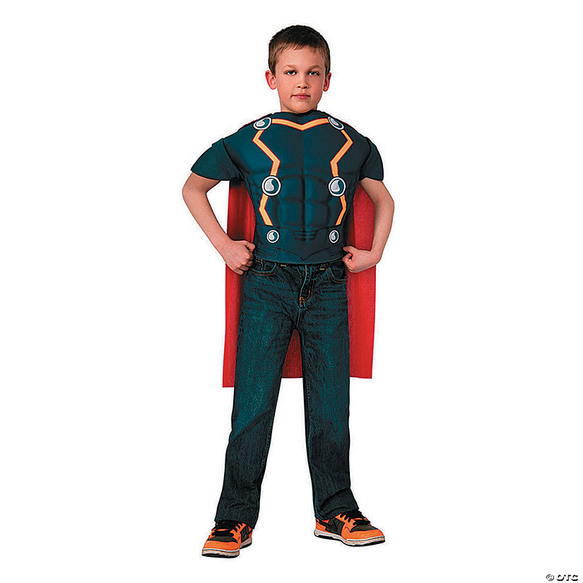Boy's Thor Top Costume