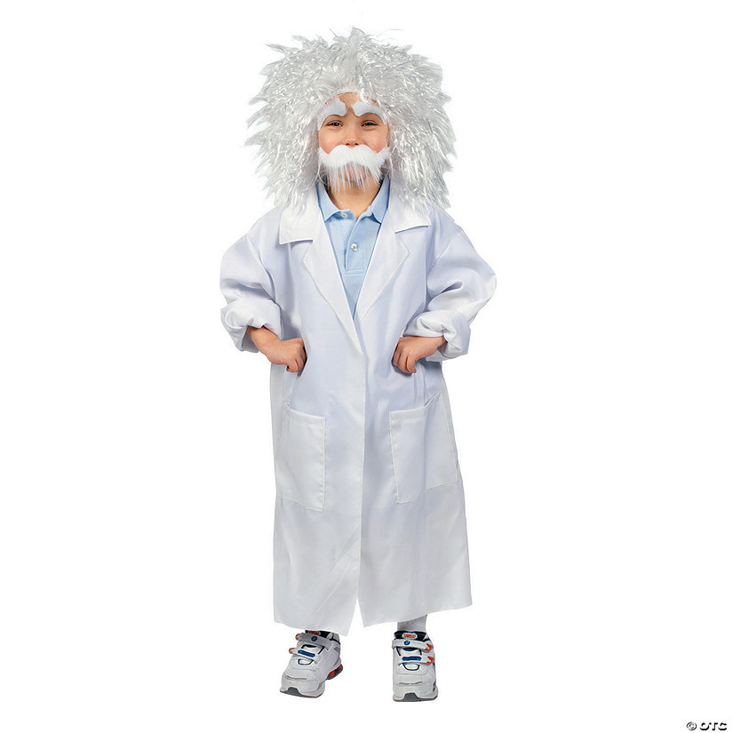 Boy's White Lab Coat Costume