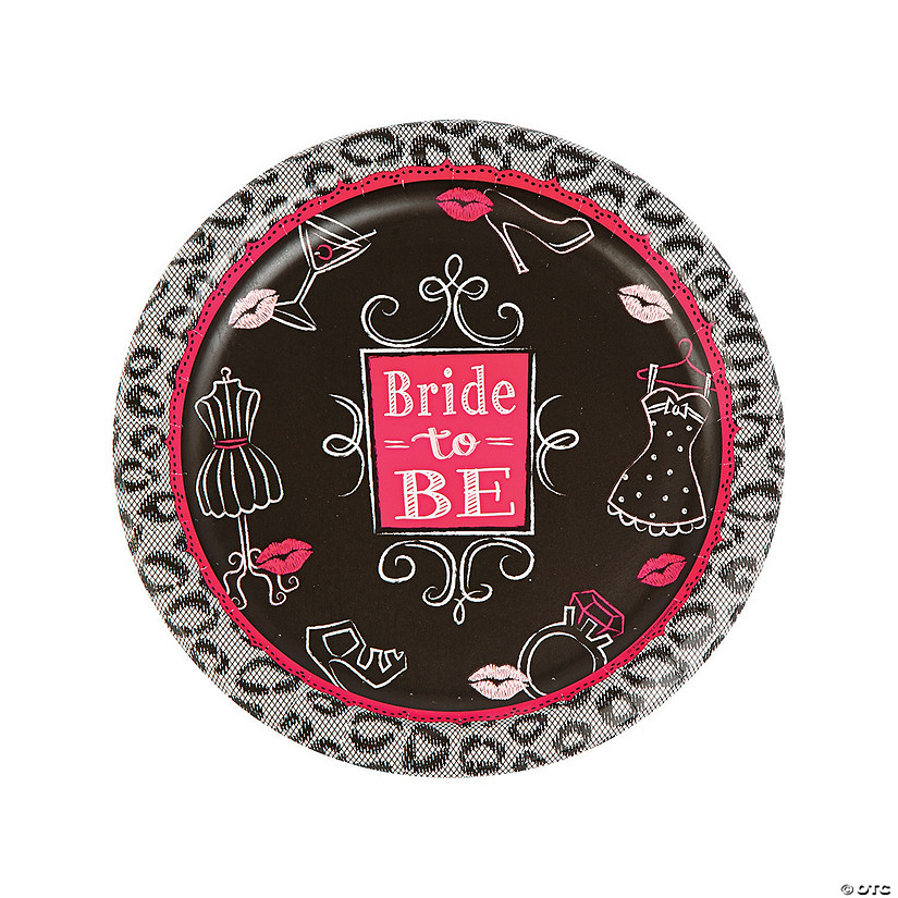 Bride to Be Paper Dinner Plates