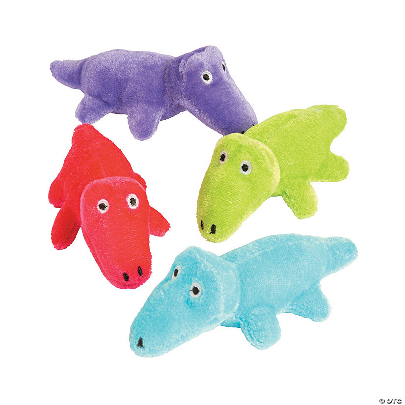 Bright Stuffed Alligators