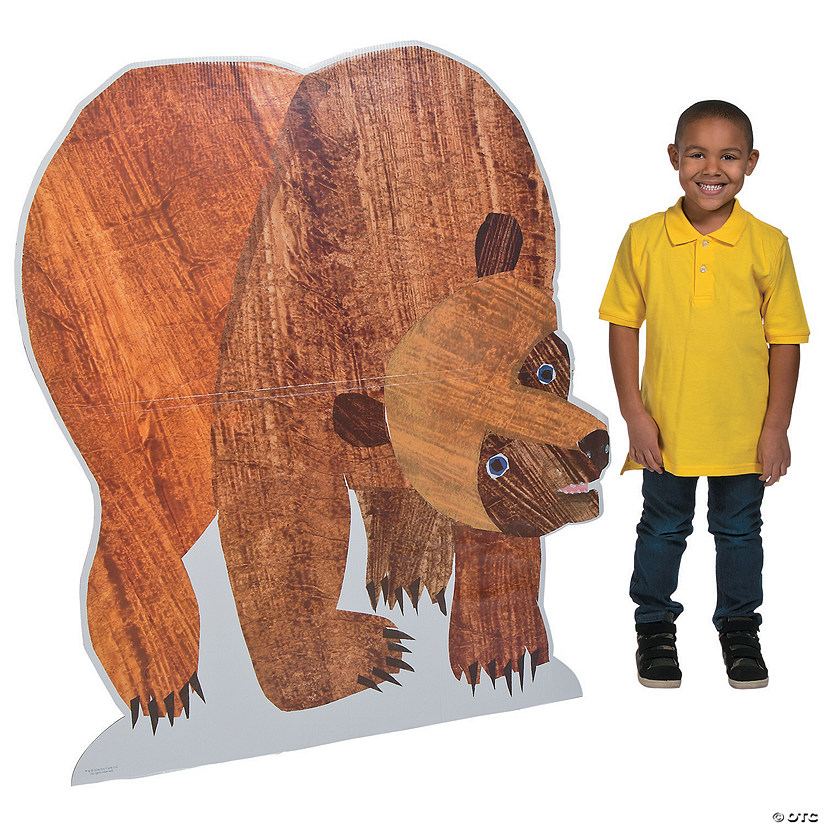 Brown Bear Cardboard Stand-Up