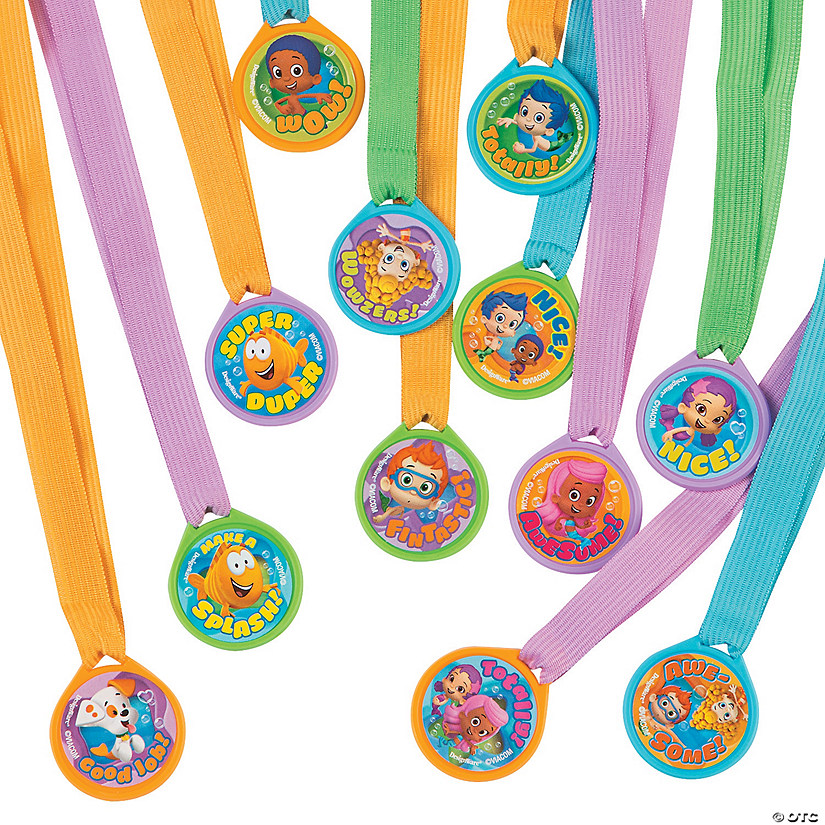 Bubble Guppies Award Medals