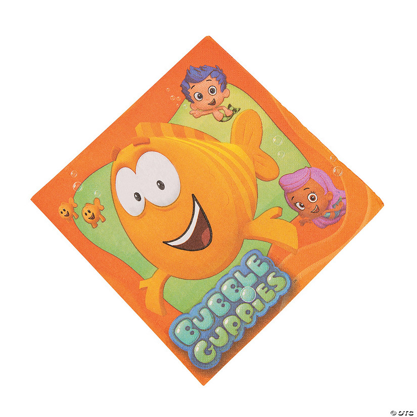 Bubble Guppies Luncheon Napkins