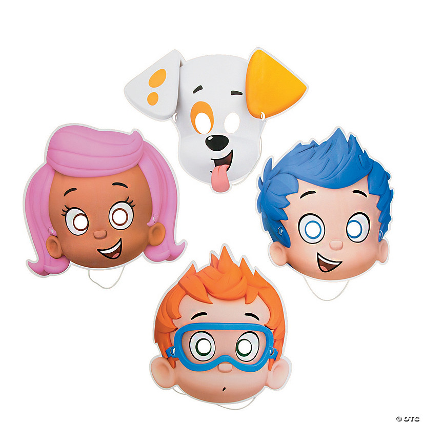 Bubble Guppies Masks